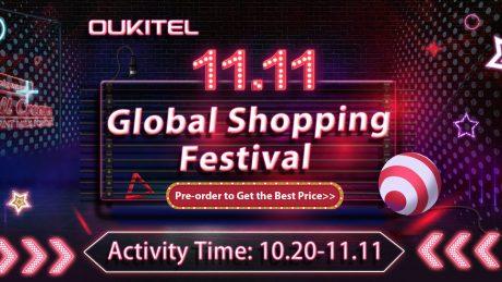 OUKITEL 11.11 Brand sale