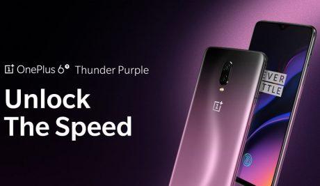 OnePlus 6T Thunder Purple cop