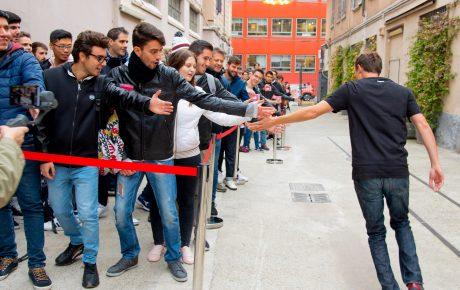 OnePlus pop up store Milano 1