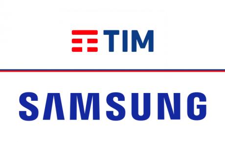 TIM Samsung logo