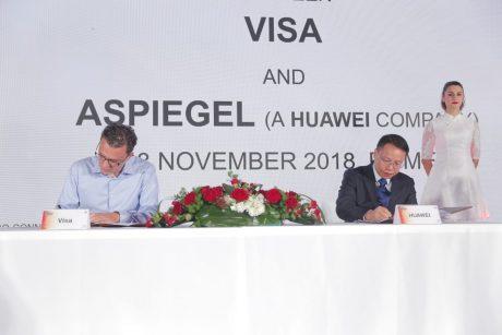 Visa Huawei signature