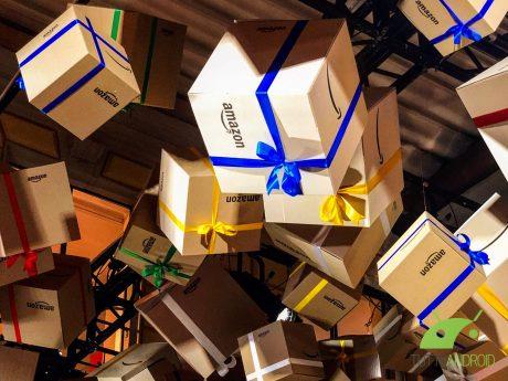 Amazon garantisce la consegna degli ordini fino alla mezzano