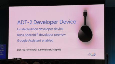 Il nuovo dongle ADT 2 di Google è in arrivo per gli sviluppa