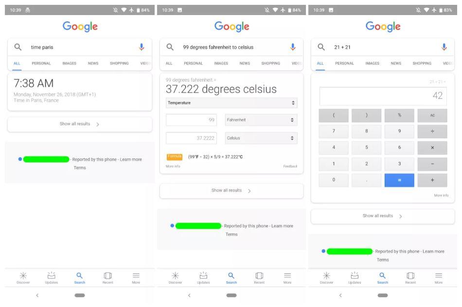 Ricerca Google Per Android Diventa Più Smart Per Calcoli