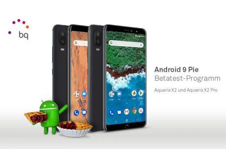 BQ Aquaris X2 android 9 pie beta e1544095510877