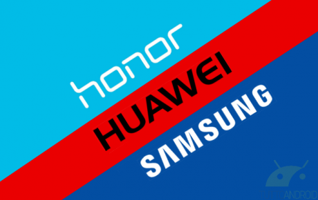 Huawei Honor Samsung logo