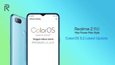 Realme 2 Pro ColorOS 5.2