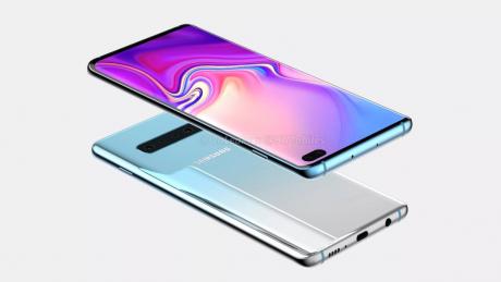 Samsung Galaxy S10 Plus render A