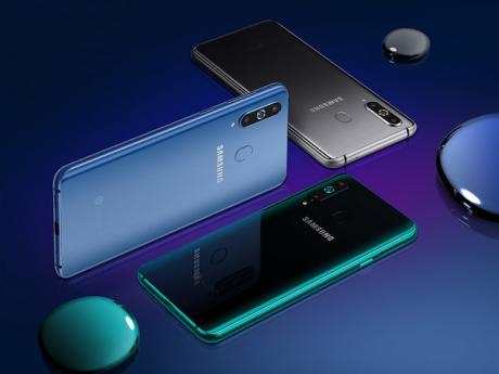 Samsung Galaxy A8s è ufficiale con foro nello schermo, Snapd