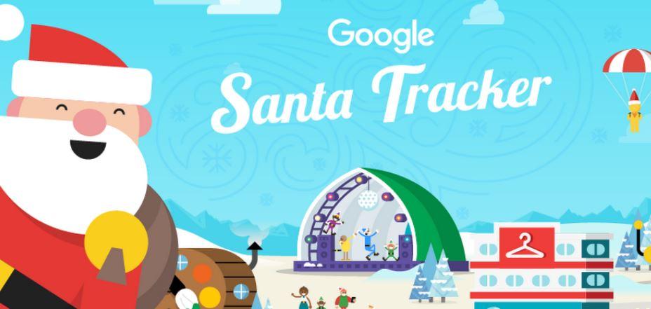 Ecco le novità di Google Santa Tracker: Babbo Natale sta partendo per il suo consueto viaggio