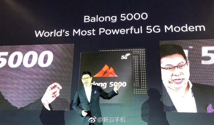 Huawei smartphone 5G al MWC 2019