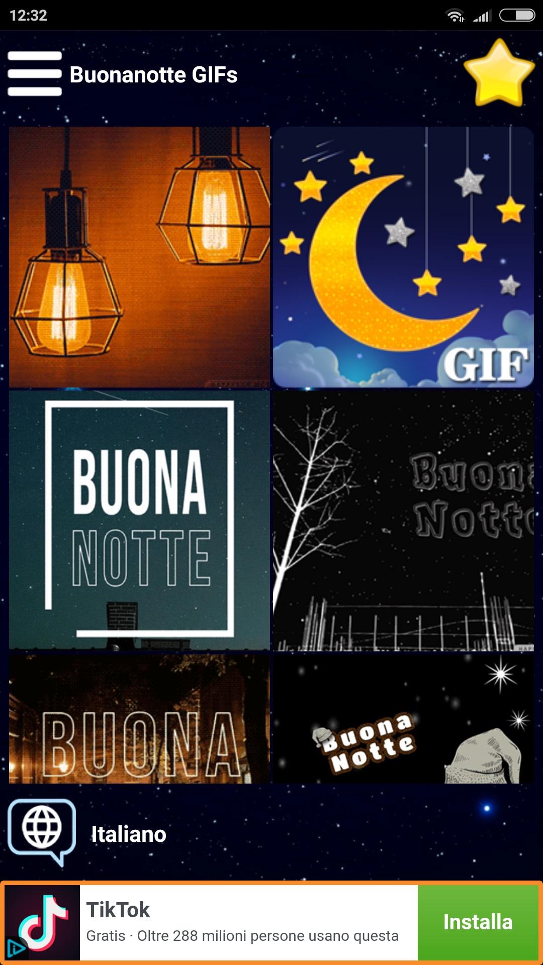 L App Buonanotte Gif Permette Di Augurare La Buonanotte Con