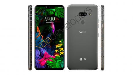 LG G8 ThinQ Leaked Render