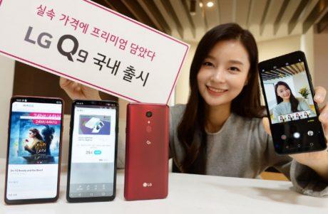 LG Q9 copertina