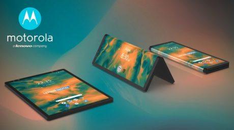 Motorola smartphone pieghevole brevetto render2
