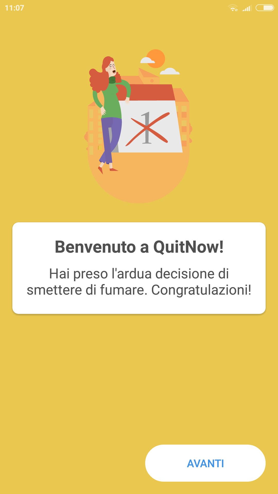 App che ti aiuta a smettere di fumare
