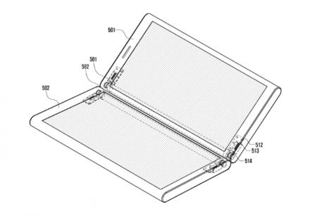 Samsung brevetto due schermi