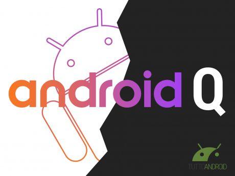 Ecco un primo assaggio di Android Q: modalità dark nativa, r