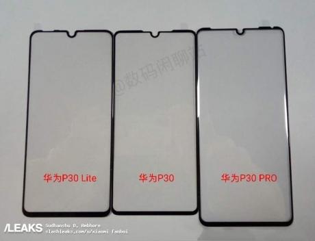 Huawei p30 lite screen protector leaked