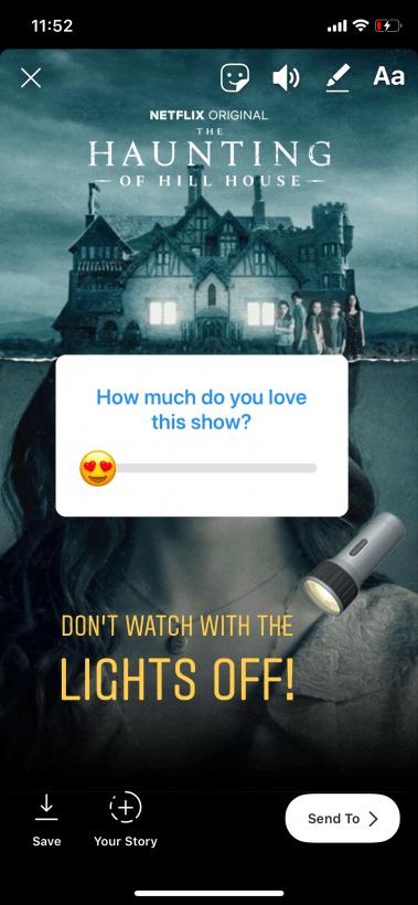 Netflix ios instagram 2