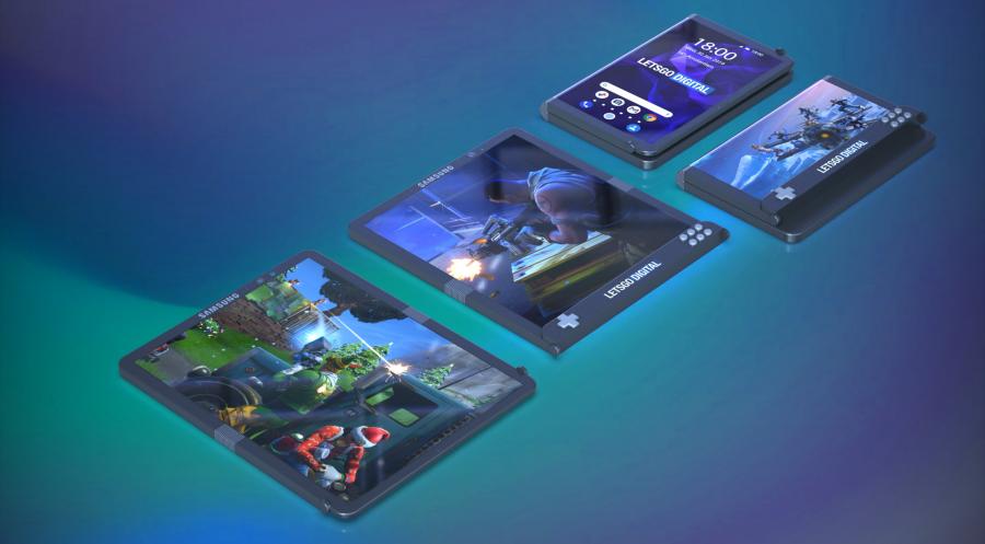 Samsung opvouwbare gaming smartphones