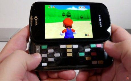 Smartphone samsung epic 4g