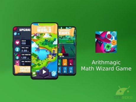 Arithmagic – Math Wizard Game è un RPG che migliora l'aritme