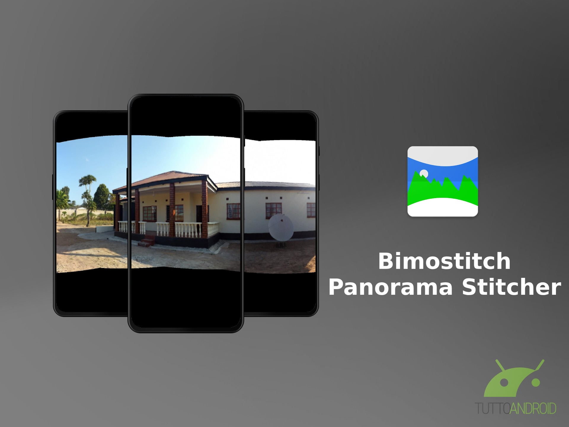 Bimostitch Panorama Stitcher permette di creare automaticamente