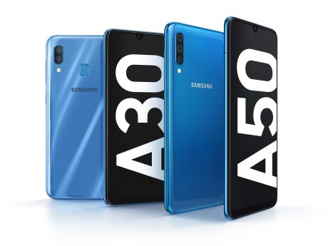 Galaxy A3050 Product KV BlueBlue 1P