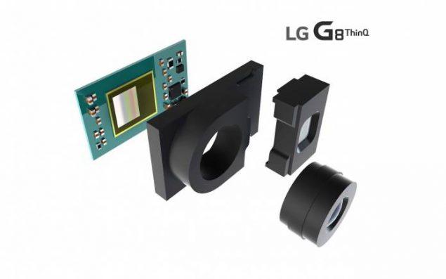 LG G8 ThinQ sensore ToF