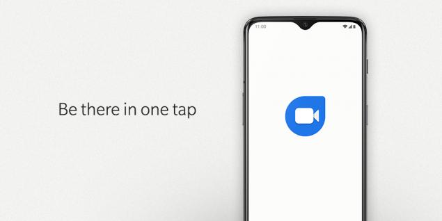 OxygenOS con Google Duo