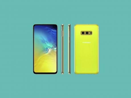 Samsung Galaxy S10e Canary Yellow cop