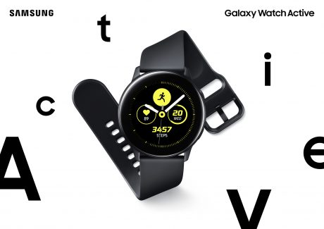 Samsung Galaxy Watch Active ufficiale: uno sportwatch a misu