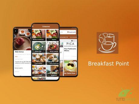 Breakfast Point è un'app dedicata agli amanti della colazion