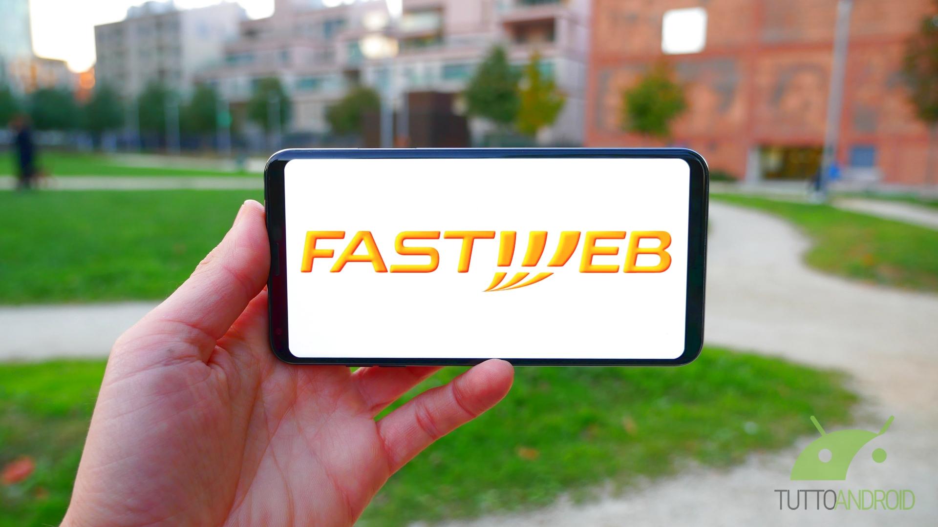Fastweb vuole che restiate a casa e regala diverse cose ai s