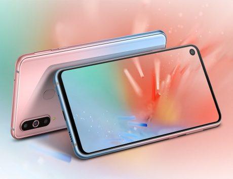 Samsung Galaxy A8s sarà disponibile nei due nuovi colori gradienti dal 14 febbraio in Cina