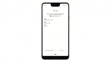 Google autenticazione a due fattori
