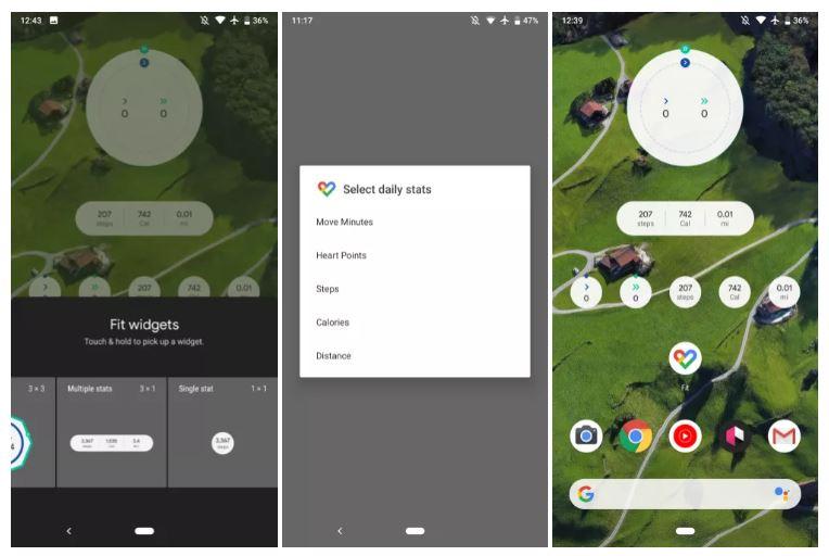 Google Fit si arricchisce di un nuovo widget e festeggia i