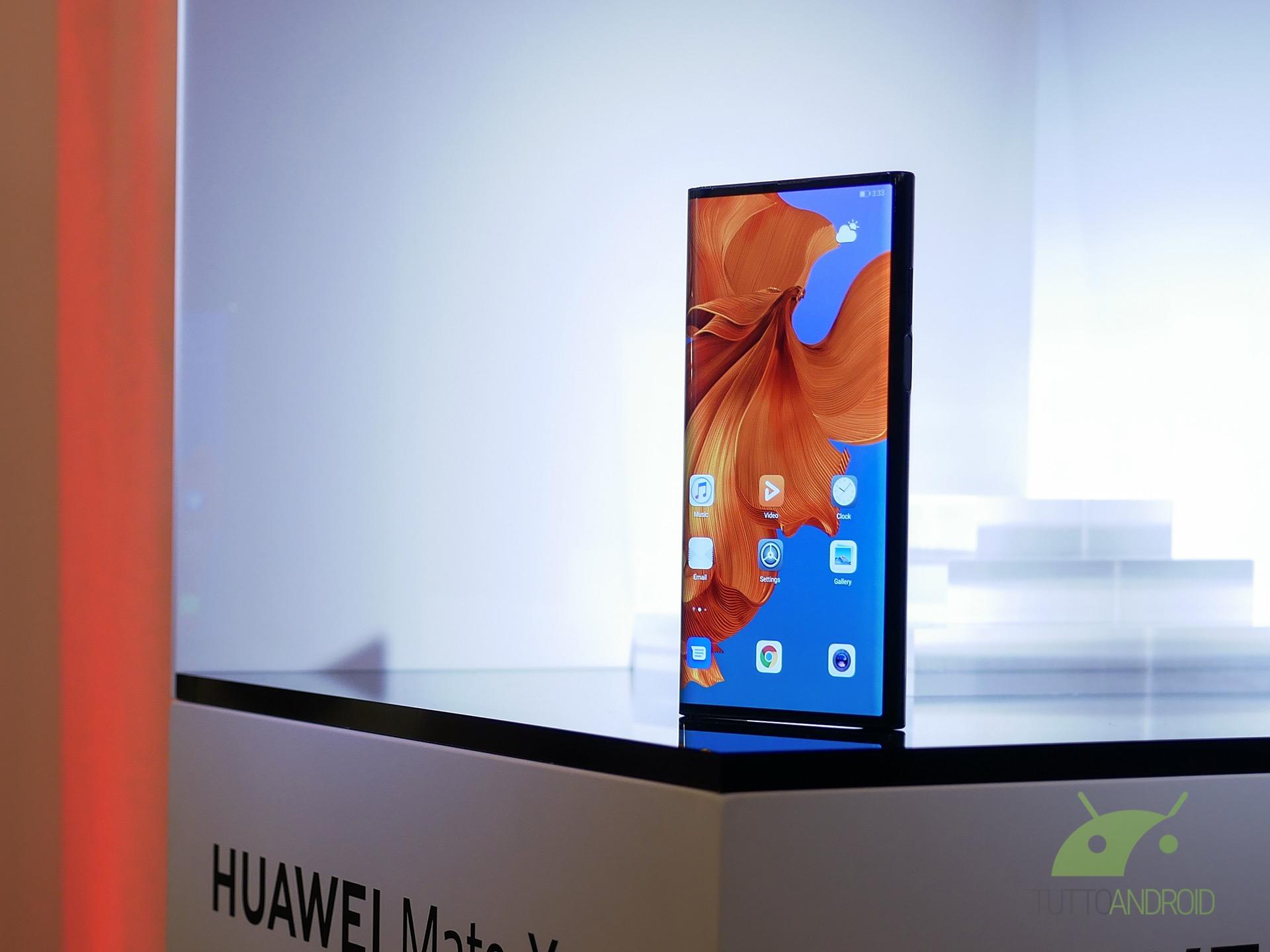 Il prezzo europeo di Huawei Mate X sarà molto più elevato di quello cinese