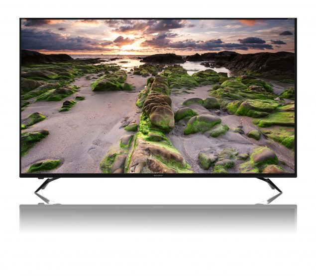 Sharp Smart LED TV 4K UHD