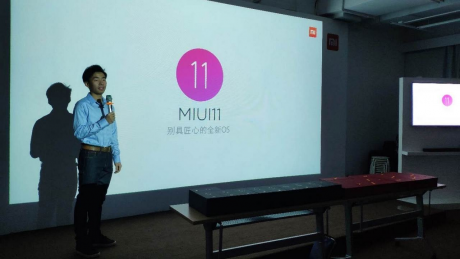 Xiaomi miui 11 slide