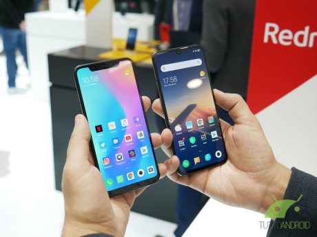 Xiaomi mi8 vs mi9 primo confronto mwc 2019