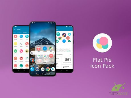 Flat Pie Icon Pack