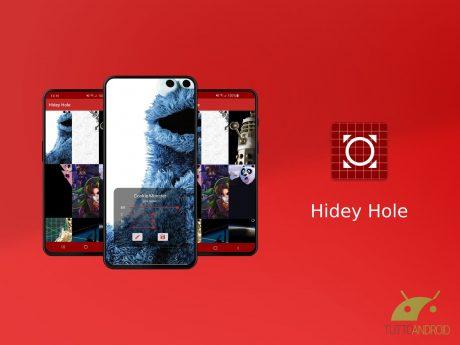 Hidey Hole permette di creare sfondi personalizzati per i fo