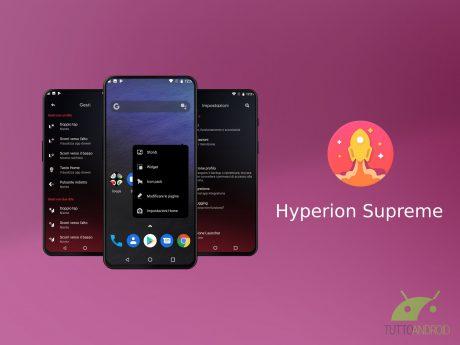 Hyperion Supreme integra tutte le funzionalità Pro di Hyperi
