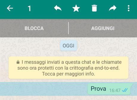 Inoltra Whatsapp