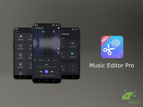 Android audio editor pro