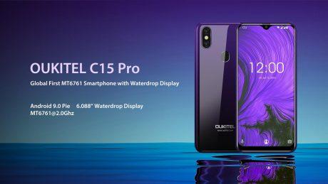OUKITEL C15 PRO powerful performance