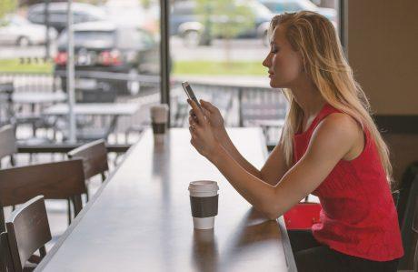 Postura smartphone