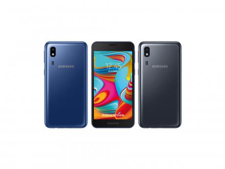 Samsung Galaxy A2 Core render